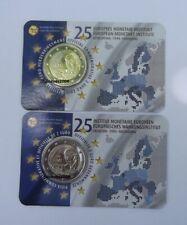 2 Euro Gedenkmünze BELGIEN  2019 - 25 Jahre EMI