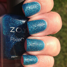 Zoya Summer Pixie Dust '13 Collex - Liberty - Blue Textured Nail Polish