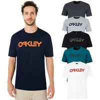 Oakley Apparel Mark II Mens SS Tee Shirt Sports Fitness Active Casual Wear Top