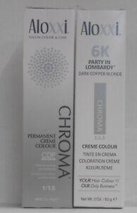ALOXXI  CHROMA CDP COMPLEX Permanent Hair Color Creme ~ U Choose ~ 2 fl oz!!