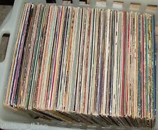 LOTTO STOCK  50 DISCHI VINILI 33 GIRI LP musica POP ROCK LEGGERA DANCE JAZZ