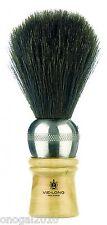 Brocha de Afeitar Vielong Pelo de Caballo Madera y Metal Plata Hecha a Mano 4212