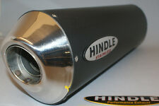 """Hindle 16"""" long for 2"""" pipe, Oval Black Ceramic SS Muffler Stealth - 753S-1620BK"""