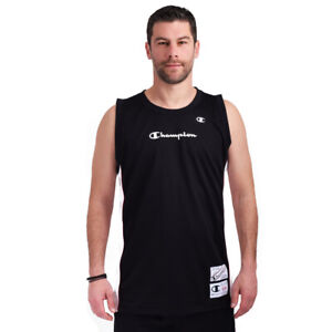 Champion Men Tank Top Sleeveless Running Training Gym Sports 215926-KK001 New