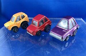 POLISTIL Italy 1:55 #MG25 Honda Coupè Z #MG33 Fiat 126 #MG34 Renault R5 Vintage