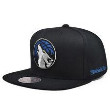 Minnesota Timberwolves Black Ripstop Honeycomb Snapback Mitchell & Ness NBA Hat