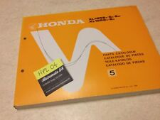Honda XL125S XLS125 XLS 125 XL125 S parts list liste catalogue pièce détachée