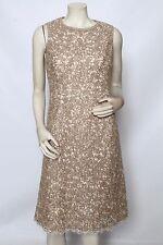 MICHAEL KORS Ivory Natural Hemp Textured Lace Wedding Dress Sz 10 NWT $2,595