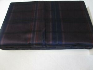 Ralph Lauren 450TC RUTHERFORD PARK Purple Plaid Checked 2 King Pillowcases