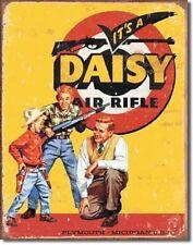 Daisy Air Rifle Kids Toy Gun Vintage Advertisement Metal Sign