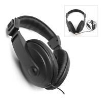 UNIVERSAL METAL DETECTOR HEADPHONES HEADSET EARPHONES OVER THE EAR HEADBAND NEW