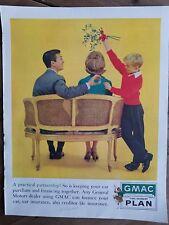 1960 Gmac Général Motors Acceptation Corps Boy Man Woman Osier Causeuse Annonce
