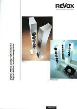Revox Prospekt 2002 D Digital-Aktive Lautsprechersysteme Scala 3.6 Prestige DLC2