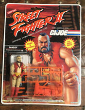 GI Joe Street Fighter Zangief 1993 action figure Great Condition! Rare