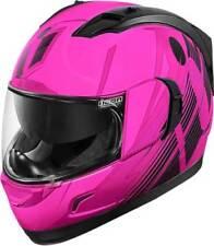 Casques roses moto pour véhicule femme
