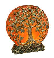 Orange Druid Tree of Life Plug-In Night Light Statue