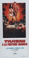 """TARZAN ET LA FONTAINE MAGIQUE (TARZAN'S MAGIC FOUNTAIN)"" Affiche ( Lex BARKER)"