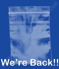 100 2mil 2 X 2 Zip Top Recloseable Plastic Small Bags Jewelry Bags Bead Bag