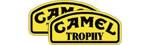 Camel Trophy stickers, pair 450mm wide, land rover, 4x4 off road, vans & camper