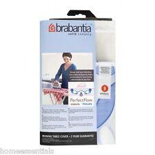 BRABANTIA Perfectflow Vapor ironing board cubierta de tabla B Tipo Tamaño 124 X 38 Cm