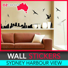 NEW Wall Sticker Decal Vinyl Wall Art Sydney City Nature Birds Skyline Removable