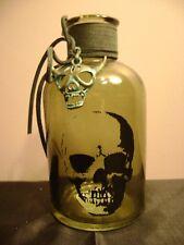 Glass Skull Bottle