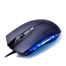 E-3lue Cobra EMS109BK High Precision Gaming Mouse with Side Control 1600dpi, New