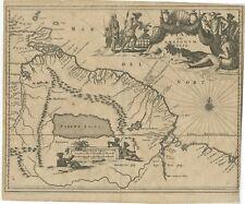 Guiana siue Amazonum Regio - Ogilby (c.1672)
