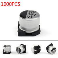 1000x 16V 100uF 6.3*5.4mm +-20% SMD Condensatori elettrolitici Chip E-Cap IT