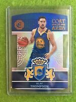 KLAY THOMPSON PRIZM DIE CUT CARD REFRACTOR 2016-17 Excalibur Coat of Arms #31 SP