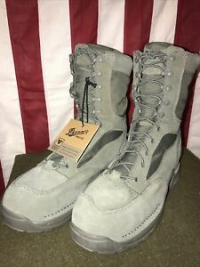 """Danner USAF TFX 8"""" Sage Green GTX NMT 26119 Boots - Gore-Tex Size 12D NWT!!!"""