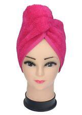 Turban Handtuch Haarturban Kopftuch 100% Baumwolle Farbe: fuchsia