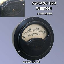 Vintage 1901  Western Electric 0 to 300 Milliamperes D.C. Meter  Model 431