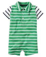Vestiti estati verde per bambino da 0 a 24 mesi 100% Cotone