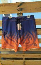 New York Knicks Royal Gradient Board Shorts Swim Trunks One Pocket Size 34 New