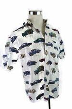 North River Vintage Hot Rod 50s Cars Mens Shirt L Pontiac Tempest Mustang T-Bird