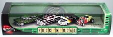 100% Hot Wheels Cool Classics Rock 'N' Road 4 Car Set In Display Case NIB 2001