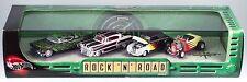 100% Hot Wheels Cool Classics Rock 'N' Road 4 Car Set In Display Case NIB 2001