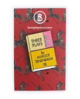Three Plays Enamel Pin! The Royal Tenenbaums, Margot Tenenbaum, Wes Anderson