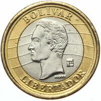 Venezuela - Münze - 1 Bolivar 2009 - BOLIVAR LIBERTADOR - Bimetall