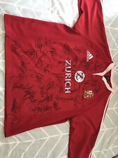 Hand Signed British Lions Shirt 2005 'New Zealand' Tour Squad Coa