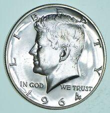 PROOF - 1964 Kennedy Half Dollar 90% Silver - Stunning Mirrors *116