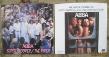 LOT of 2 ABBA 45rpm Picture Sleeves (only-No 45s) all on Atlantic