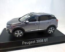 Peugeot 3008 Gt 2016 , Gris Metálico, 1:43 Norev