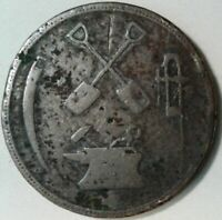 1832 LOWER CANADA T.S. BROWN & Co HALF PENNY MERCHANT TOKEN