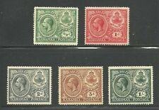 Album Treasures Bahamas Scott # 66-69  George V 1920 Peace Issue Mint Hinged
