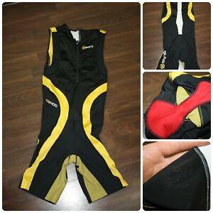 SKINS TRI400 Sleeveless Trisuit / Skinsuit Size S