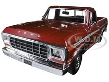 1979 FORD F-150 PICKUP TRUCK BROWN 1/24 DIECAST MODEL CAR BY MOTORMAX 79346