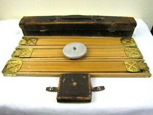 RARE & HISTORICAL 19TH CENTURY KODAK CAMERA CO. WOOD CAMERA TRIPOD MINT IN CASE!