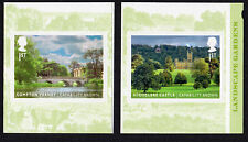 2016 LANDSCAPE GARDENS - SELF ADHESIVE Single Stamps from Booklet 3877 - 3878